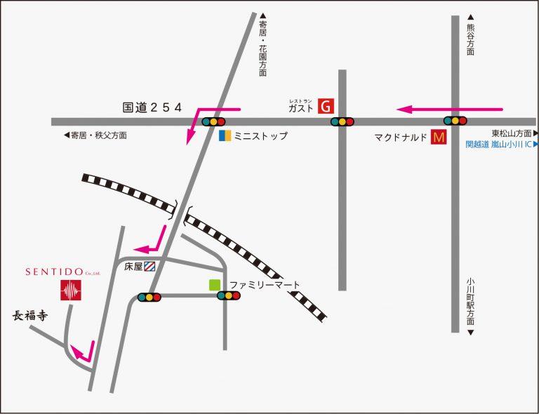 sentido map